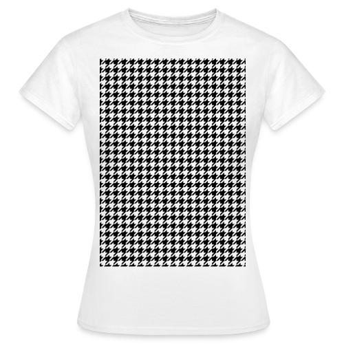 pied de poule v12 final01 - Vrouwen T-shirt
