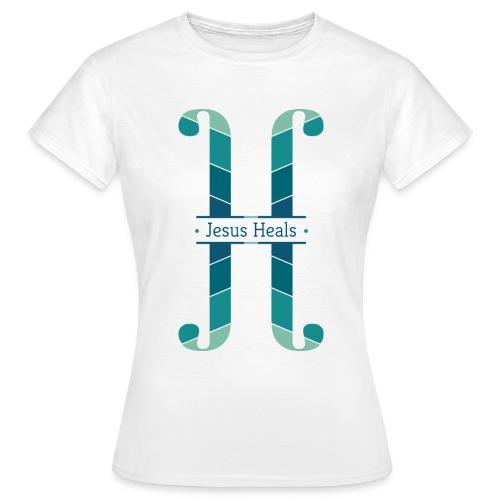 Jesus heals - T-shirt Femme