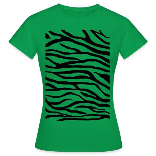 zebra v6 - Vrouwen T-shirt