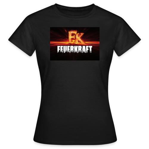 FK Flammen Schriftzug - Frauen T-Shirt