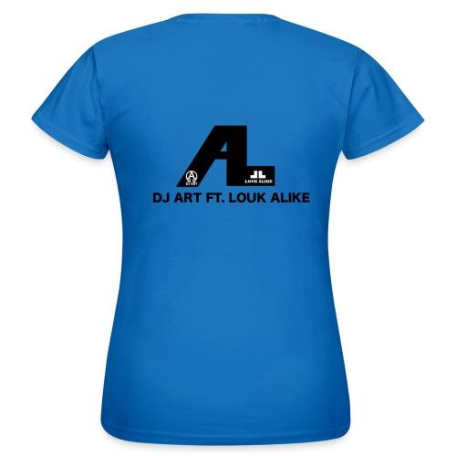 DJ Art ft. Louk Alike (lichte pull-kleuren) - Vrouwen T-shirt