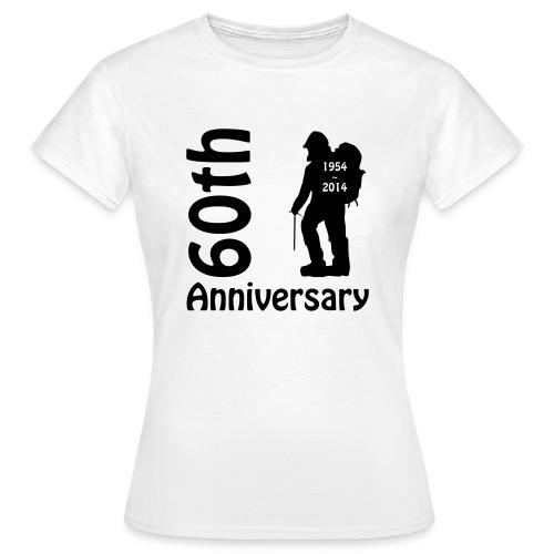 60th front mountianeer - Women's T-Shirt