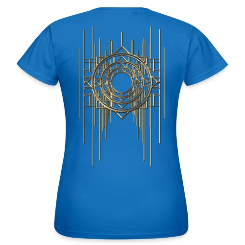 Abstract & Geometric - Gold Metal - Women's T-Shirt