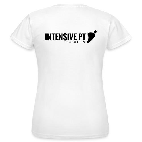 Intensiv PT-utbildning svart - T-shirt dam