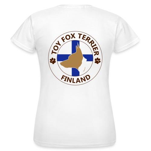 finland tft mustapaa - Naisten t-paita