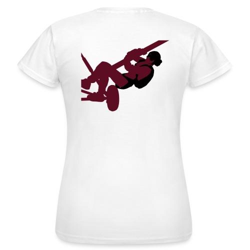 Parachutisme video - T-shirt Femme