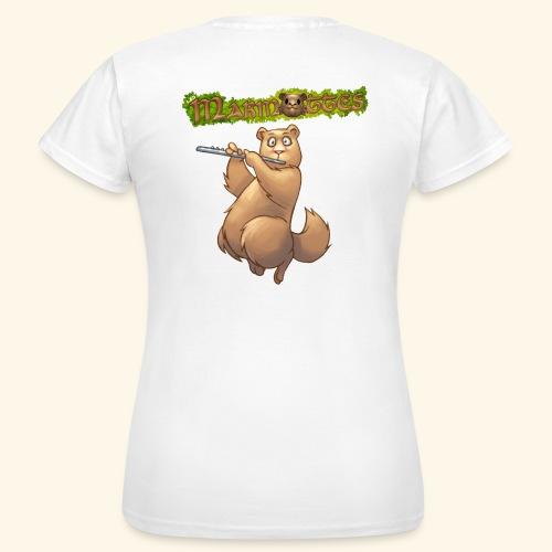 Tshirt Flute dos 2 - T-shirt Femme