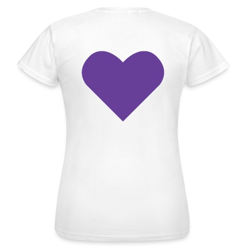 Social Frihet heart 1088x933 png - T-shirt dam