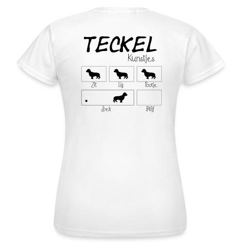 Kunstjes Zwart - Vrouwen T-shirt