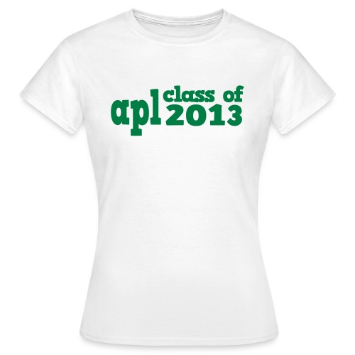 aplclassof2013 - Women's T-Shirt