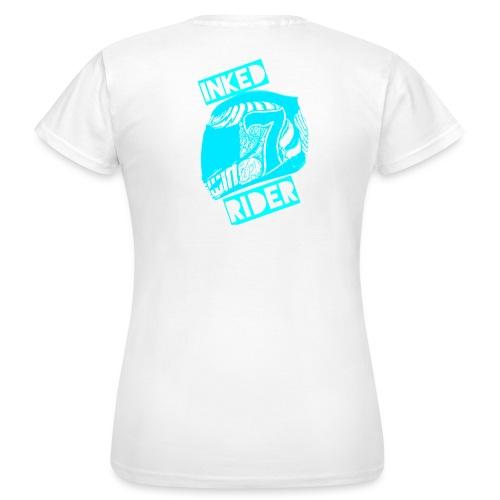 Inked Rider - Babyblue - Frauen T-Shirt