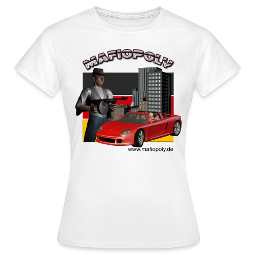 Shirt-Mafiopoly weiß - Frauen T-Shirt