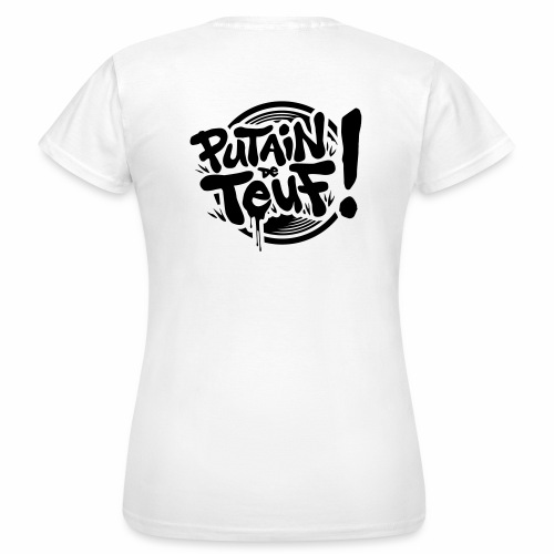 Pdt Logo 2019 A - T-shirt Femme