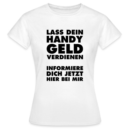 Slogan 1 black - Frauen T-Shirt
