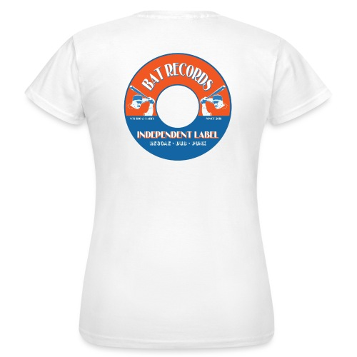 logo bat-records - T-shirt Femme