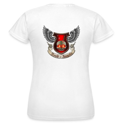 dead angels red preview png - Frauen T-Shirt
