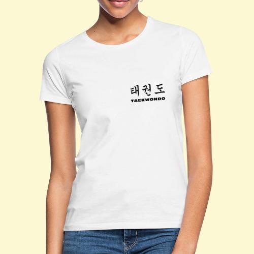 TKD Hangul - Frauen T-Shirt