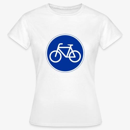 Critical Mass • Tshirt / fahrrad vorn / auto hin - Frauen T-Shirt
