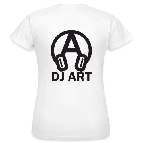 DJ Art (lichte pull-kleuren) - Vrouwen T-shirt