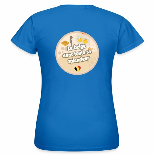 logo Le belge - T-shirt Femme