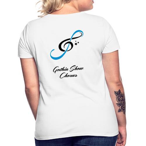 GothiaShowChorus LOGGO Blå svart - T-shirt dam