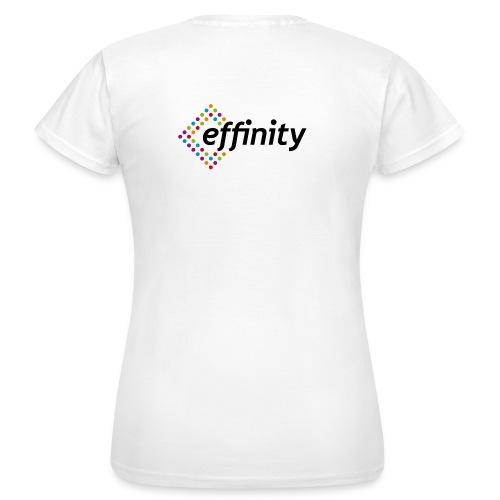 logo effinity png - T-shirt Femme
