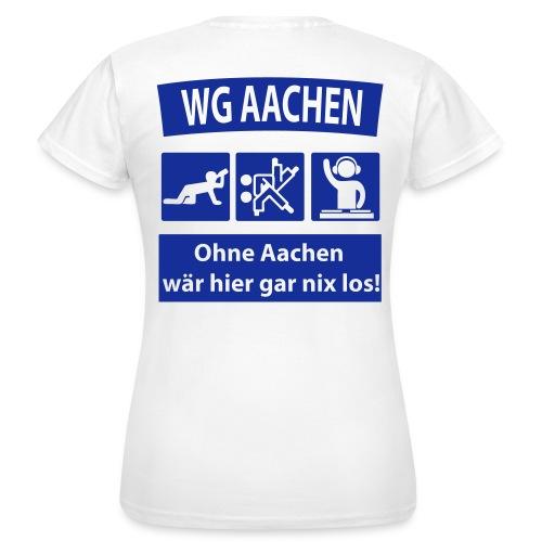 ruecken druckfertig2 - Frauen T-Shirt