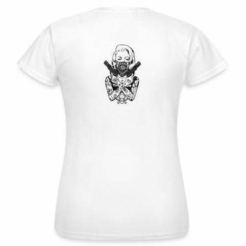 Tatoo Gun - T-shirt Femme