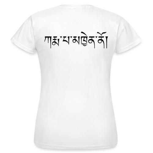 Karmapa Chenno - Frauen T-Shirt