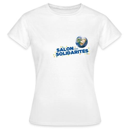 SDS2014 bloc titre DROIT bleu HD VR png - T-shirt Femme