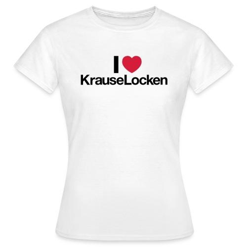 lovekrauselocken - Frauen T-Shirt