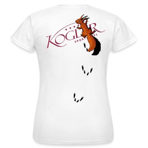 Kogler Logo mittersill - Frauen T-Shirt
