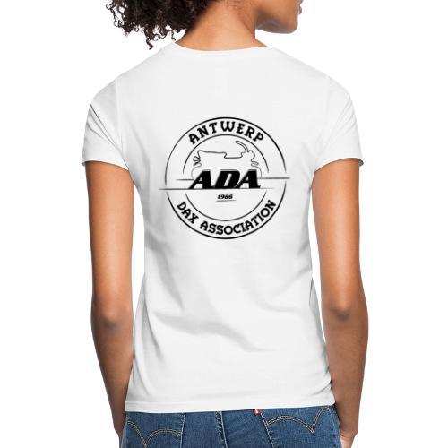 ADA DAX Logo Groot Zwart - Vrouwen T-shirt