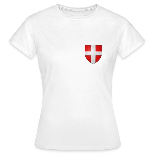 Blason Savoie Propre png - T-shirt Femme