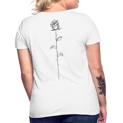 Black Rose - Women's T-Shirt