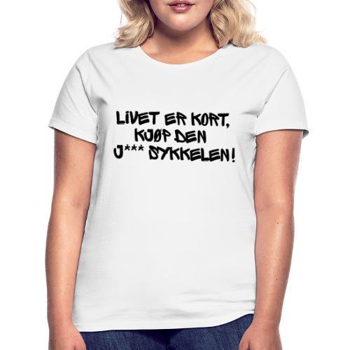 Sykkelfjas - T-skjorte for kvinner