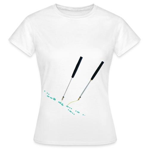 T shirt 2016 avant diabolo png - T-shirt Femme