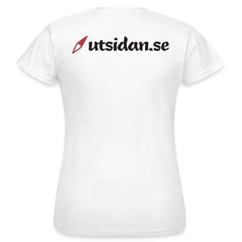 Utsidan logotyp - T-shirt dam