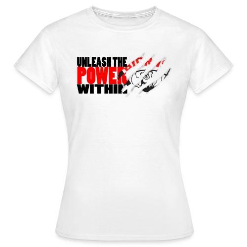 utp-black-trans - T-skjorte for kvinner