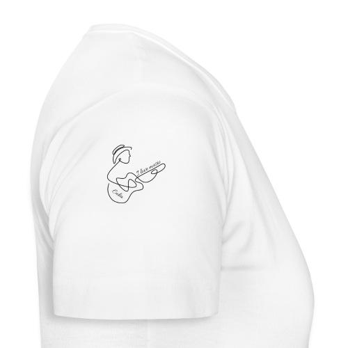 i love music - Camiseta mujer