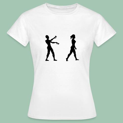 zombie - Maglietta da donna
