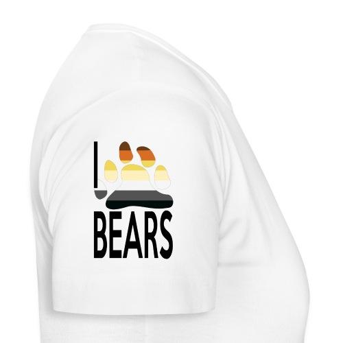 I love bears - T-shirt Femme