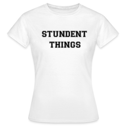 studentthings png - Frauen T-Shirt