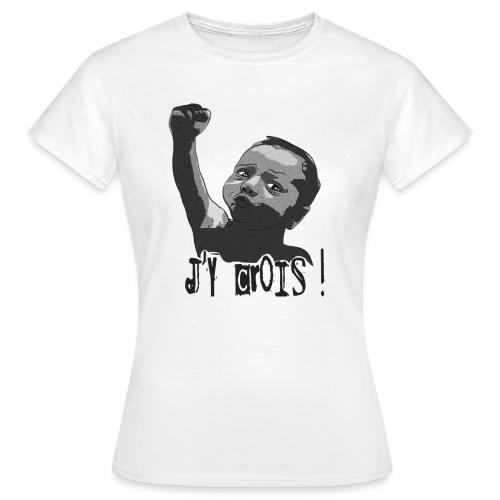 I got ze power sombre petit png - T-shirt Femme