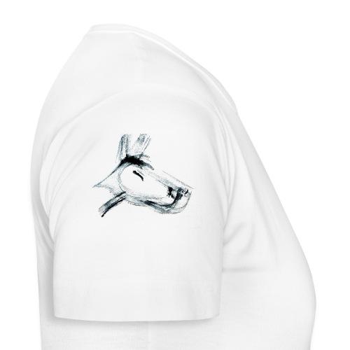 hundshwarz.png - Frauen T-Shirt