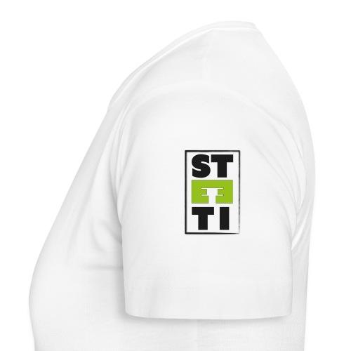 Steeti logo på vänster arm - T-shirt dam