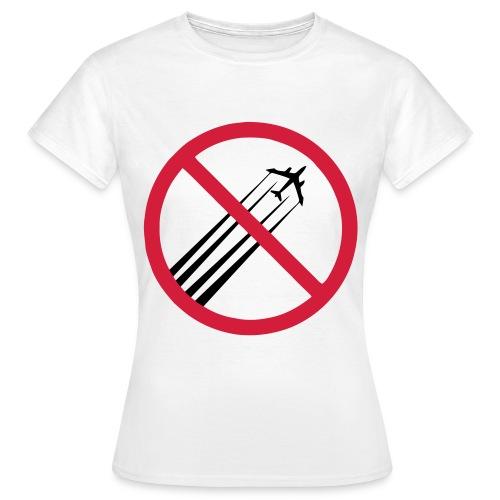 No-GeoNobgWhiter - T-skjorte for kvinner