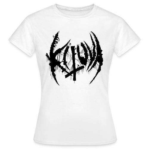 Kituva black logo - Naisten t-paita