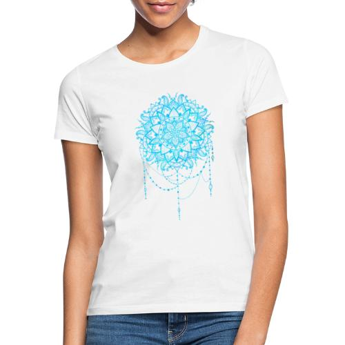 Blue mandala - Dame-T-shirt