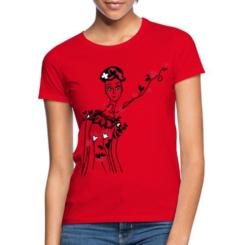 donnina di cuori - Maglietta da donna
